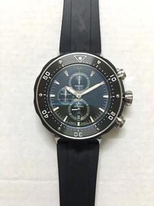 ORS luxo atacado quentes, borboleta do Relógio original fivela, 50mm, aço inoxidável 361L, multi-função de cronometragem relógio à prova d'água, do homem,