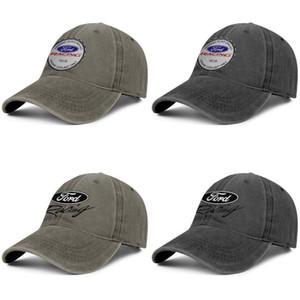Ford Racing 3 черные мужские и женские водителя грузовика дизайнер джинсовой кепки гольф-бланк установлены симпатичные модные оригинальные шляпы 1 ford-racing-1 2
