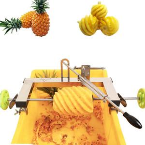 Manuel ticari kullanım ananas soyma makinesi paslanmaz çelik ananas soyucu kesici manuel ananas göz sökücü bıçak verimlilik araçları