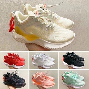 Adidas AlphaBounce Kids Triple S кроссовки для мальчиков. Дизайнерская обувь. Детская платформа. Детская спортивная одежда.