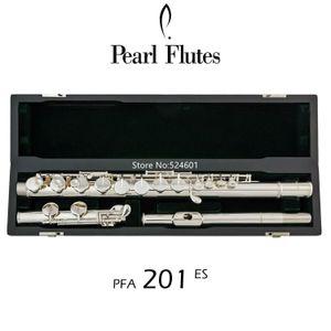 Popular Pérola Alto Flauta PFA-201ES retas headjoint 16 teclas Closed Buraco níquel prata G Tune Musical caixa do instrumento wiht