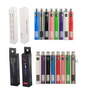 EVOD Batteria Preheat VV Votaggio VAPA VAPA PEN Penna Ecow 510 Thread Ego Micro USB Caricatore Ugo V3 II 100% originale