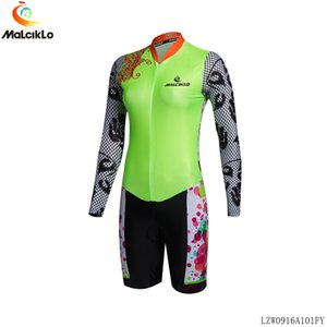 Pro Takım Triathlon Suit erkek kadın Uzun Kollu Bisiklet Jersey Skinsuest Tulum Maillot Bisiklet Ropa Ciclismo Set Yüzme Egzersiz