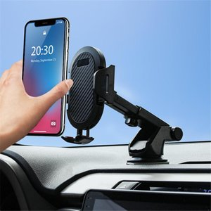 Car Phone Holder Windshield Gravity Sucker Mobile Phone Support Universal Stand Holder Adjustable Bracket Car Accessories