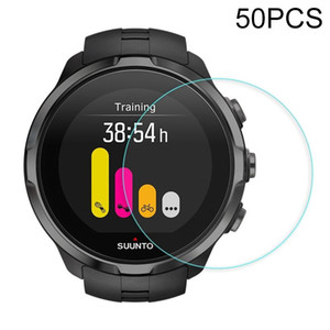 50 PCS For Suunto Spartan Traverse Alpha 0.26 mm 2.5 D Tempered Glass Film
