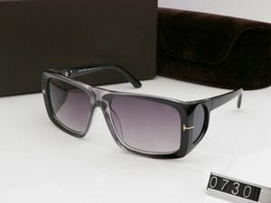 2019New lazer Óculos de sol de personalidade para o homem Mulher Eyewear tom Designer óculos de sol UV400 ford Moda exterior Óculos de sol com caixa de 0730