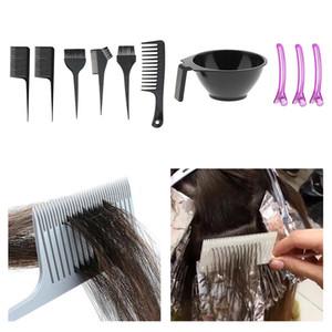 أدوات صالون تلوين الشعر صباغة تينت خلط السلطانية فرشاة لتصفيف الشعر