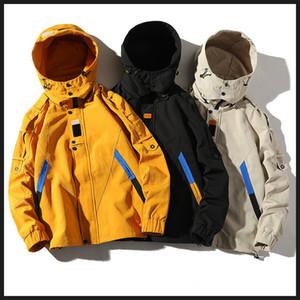 Luxe Hommes Veste Vêtements Nouveau Élégant Casual Wild Ins Tide Détachable À Capuche Designer Hommes Veste Outillage Veste Hommes