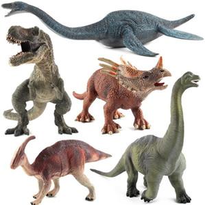 New Wonderful Different Simulation Big Dinosaurs Forme Giocattoli per bambini Festa di casa Regali carino Decor Spedizione gratuita