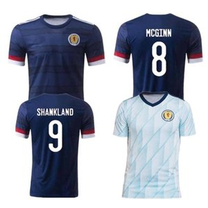 2020 Scotland Soccer Jersey #10 CcGREGOR FRASER BOBERTSON Soccer Shirt Mens #9 BURKE FINDLAY ARMSTRONG Home Away Football Uniform