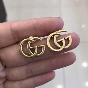 2020 Nouveau 925 en argent sterling mots creux Boucles d'oreilles pour les femmes de bijoux compatibles