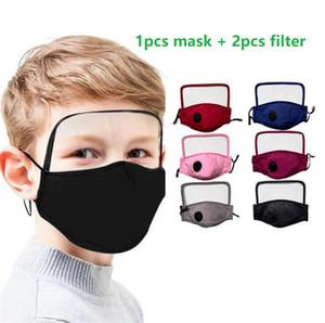 bambini riutilizzabili della maschera di protezione antipolvere Droplets Facemask Inserisci per Mask Paper Haze Bocca PM2.5 Filtro bicicletta maschera PM2 5 Filtro