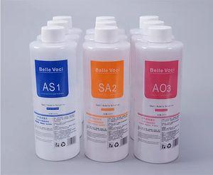 2020 Professionelle HydraFacial Machine Aqua Peeling Solution 400 ml pro Flasche Aqua Gesichtsserum Hydra Gesichtserum Freies Verschiffen
