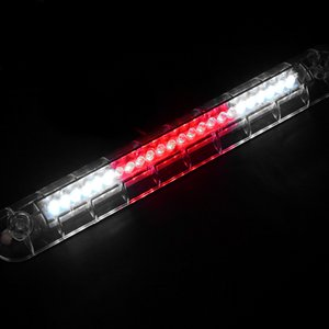 ARMSKY 9,84 дюйма автомобилей High Mount Третий 3RD Brake Stop Tail Light Lamp K Красный + Белый 24 LED 12V DC