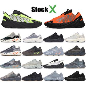 Utility Black Gum Bottom 700 Wave Runner Uomo Donna Sneakers firmate Nuove 700 Kanye West Scarpe sportive con scatola X 36-46