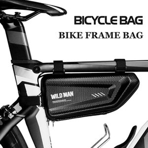 Saddle Bag Rainproof Shell Bags Bag Cycle Bag Top Tube Bike Handlebar WILD Mtb Tool MAN Cycling Accesorios Hard Bicycle Kqjch