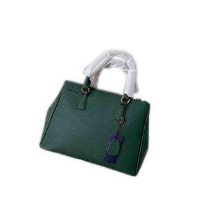 Mulheres Leather Soho Bag Prada Disco Shoulder Bag Purse bolsa Top tipo couro Cadeia Sete cores, 32 * 24 * 14