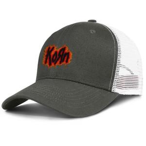 Band Korn Nu Metal army_green pour hommes et femmes, casquette de camionneur, styles de baseball et chapeaux de designer