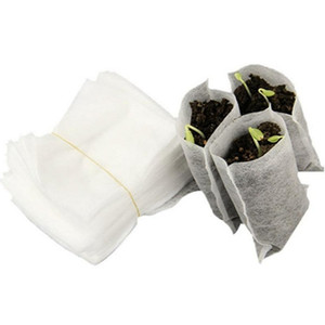 Seedling grow bags Non Woven Fabric pots garden plant fiber nursery pots seedling raising bag plants holder