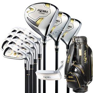Nuova Golf Club HONMA U100 Set completo di club Set ferri di legno conducente Putter e la borsa R o S Pozzo della grafite di trasporto