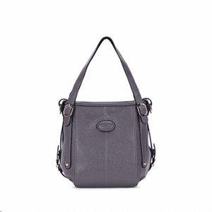 Belle2019 Die Tasche Flut Barrel Ma'am Echtes Leder Handtasche Rindsleder Single Shoulder Messenger Woman Package