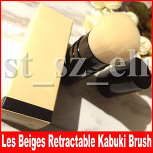 Известный инструмент для макияжа лица Les Beiges выдвижная щетка Кабуки с коробкой пакет красоты румяна тени для век косметика кисти для макияжа