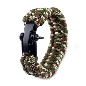 Wild Soul Tactical Bracelet Multi Functional Emergency Paracord 550 for Men Outdoor Survival Climbing Paracord Watch Accessories