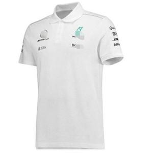 F1 Formula takımı yeni erkek kısa kollu yaka tişört POLO gömlek F1 elbise takım elbise araba fanlar çalışma özelleştirme yarış çıkışı teslimat