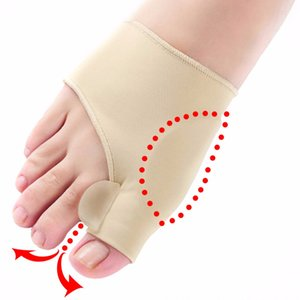 1pair confortável Toe macia Joanete Protector Straightener Silicone Toe Separator Corrector Thumb hallux valgus Pé Brace Suporte