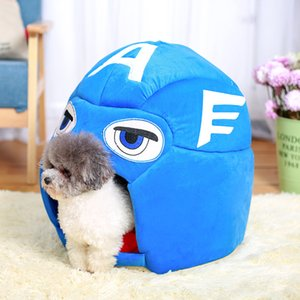 New Small Dog Bed Pet Bed For Dogs And Cats Cute Cat House Puppy Nest Cartoon Animal Kennels Mat Fashion Design Doghouse Sofa