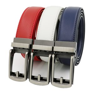High Quality Mens Casual Belts Genuine Leather Automatic Belt Six Color Can Choose By Whole Sale