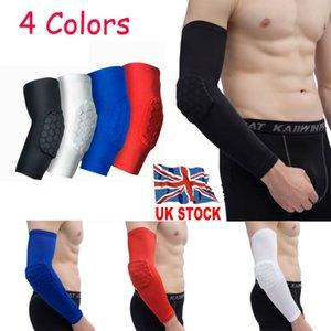 Deportes del Reino Unido de rodilla de ratón adulto Fútbol rodillera ayuda del apoyo de la pierna del codo Protect