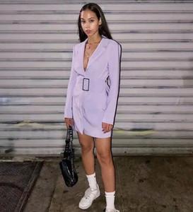 C5162 Nouveau Printemps Automne en Europe Femmes Mode Moralité Robe Manteau long Blazer Costume Lady Manteau Outwear