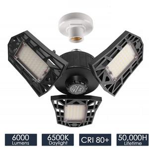 60W LED LED Garage Licht hohe Bucht-Beleuchtung für Lagerwerkstatthalle Lobby Beleuchtung IP65 Wasserdichte 80W Led Canopy Lichter