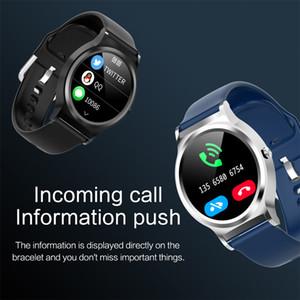 Nueva CF98 inteligente los hombres del reloj pulsera de círculo completo de la pantalla táctil monitor de ritmo cardíaco IP67 a prueba de agua rastreador de ejercicios para el iPhone Xiaomi