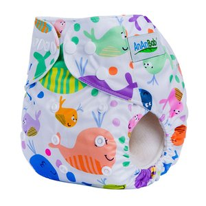 Digital Prints Reusable Pocket Diaper Cover Waterproof Baby Cloth Diapers ECO Cloth Nappy Suit 0-3years 3-13kg F Series