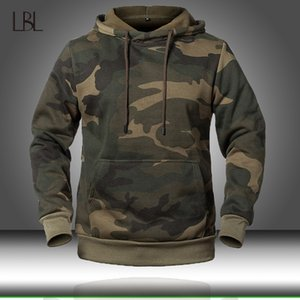 Camouflage Hoodies Men 2020 New Fashion Sweatshirt Male Camo Hoody Hip Autumn Winter Military Hoodie Mens Clothing US EUR Size Y200704