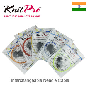 Sewing Notions & Tools KnitPro Coloured Interchangeable Needle Cable