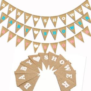 Triangle Pull Flag Serapilheira Bandeiras Decoração Do Partido Suprimentos Amor Do Chuveiro Do Bebê Feliz Aniversário Da Menina Do Menino Hot Sales Criativo 6dfC1