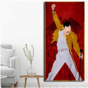 Queen Группа Рок Плакаты Freddie Mercury, HD Печать на холсте Новое Домашнее украшение Искусство Живопись / (Unframed / Framed)