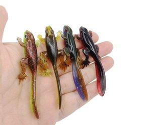 Yeni kurbağa yumuşak yem 4 renk isteğe bağlı 8cm3.6g sahte yem yol alt yem yem