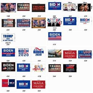 55 Stiller Donald Trump Bayrağı 90 * 150cm Joe Biden Seçim Bayrağı 2020 Amerikan Başkanı Amerika Büyük Parti Bayrağı ZZA2313 200pcs tutun