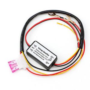 1PC DRL Controlador Auto Car LED luzes diurnas de controlador do relé Harness Dimmer On / Off 12-18V Fog Light Controller