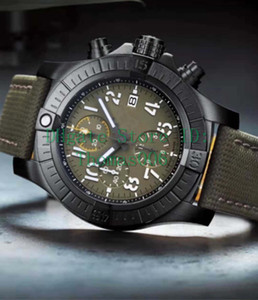 2019 Mens Watch Super 1884 Movimento al quarzo Cronografo Cronografo Maschile Cinturino in nylon da uomo Orologi da polso
