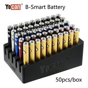 Originale Yocan B-Smart Battery 320mAh Vape Pen Preriscaldare Funzione Tensione regolabile per 510 Discussione Olio Cera Herb 3 in 1 penna vaporizzatore DHL