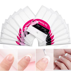 Form Guide Stickers Tips Design Decal French Manicure Nail Art Fringe DIY Salon New Stencil Wholesale Professional