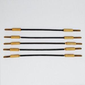 5x 4/4 violino accessori di ricambio Accessori Parti 3/4 violino Tailgut Tailpiece in acciaio inox filo Nucleo SL641