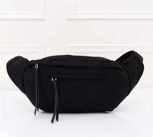 Os mais recentes lona impermeável saco da cintura para homens homens ombro Bumbag Corpo Cruz Bolsa cintura Bag Cruz pochete bolsa Temperamento Bumbag cintura sacos