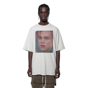 19SS Leonardo T-Shirt Männer Frauen 1a: 1 Qualitäts-Aufmaß-Männer-T-Shirts Street Designer Tees HFWPTX319