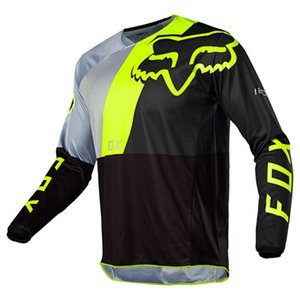 2020 fox racing costumes Moto Jersey DTL Cyclisme Maillots suits descente hommes et les femmes en tête manches longues d'été